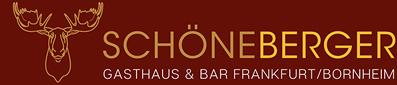 Schöneberger – Gasthaus & Bar – Frankfurt/Bornheim Logo